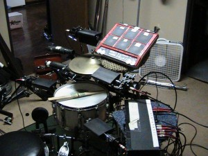 Various Electronic Drumkit Configurations