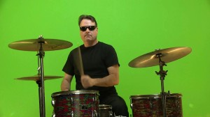 Green Screen drums